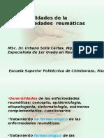 Clase 2. Generalidades de Las Enfermedades Reumáticas de Las Enf