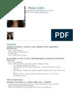 latest resume - nov 2016