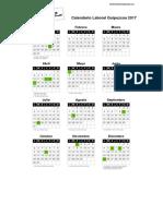 Calendario Laboral Guipuzcoa