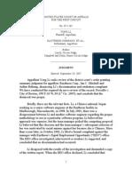 1st Cir. Judgment, Li v. Raytheon, 2007