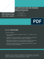 Unidad 4 Clasificacion de Redes Industriales 4.2.5,4.2.6,4.2.7