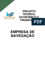 Plano de Negocio - Pequena Empresa de Navegação