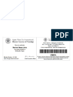 sigma theta tau membership card