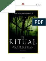 Adam Neville - El Ritual