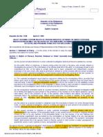 RA 7438 Miranda Doctrine Rights in Custodial Investigation