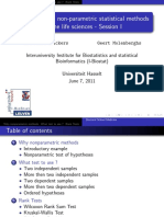 Statistical Methods for the Life Sciences