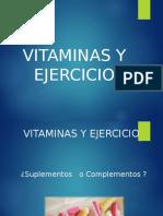 Vitaminas y Ejercicio