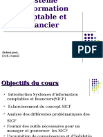 Support de Cours Mr Oumlil SICF SYSTEME INFORMATION FINACIER