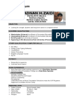 CV for the post of Computer Operator.docx