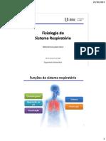 06 2014-10-29 SistemaRespiratorio 2014-10-29 Fisiologia Respiratoria NatanielRosa