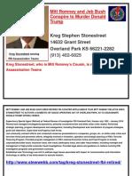 Kreg Stonestreet Is Running FBI Assassination Teams .docx