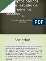 Conceptos Básicos Para El Estudio de Los Fenómenos Sociales
