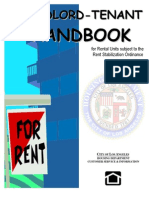 Los Angeles Landlord Tenant Handbook for Rent Stabilized Units