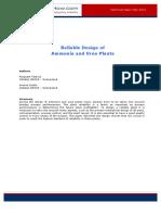 2015 5 Talarico Casale Reliable Design of Ammonia and Urea Plants