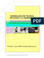 Normalizacion Tecnica Ingenieria