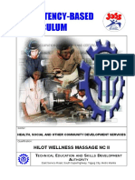 CBC Hilot (Wellness Massage) NC II