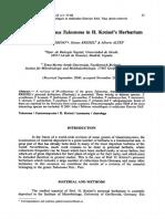 2001_Moreno Et Al_Notes on the Genus Tulostoma