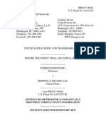 Unified Patents Inc. v. Shipping & Transit, LLC, IPR2017-00361, Paper 1 (Dec. 1, 2016) (Petition)