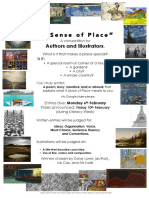 A Sense of Place Poster