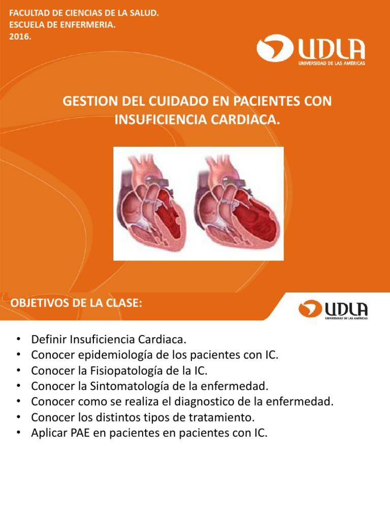 insuficiencia cardiaca congestiva tratamiento pdf