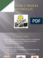 Supervision y Prueba de Materiales