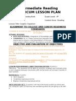 intermediate lesson plan 2