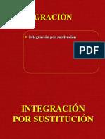 SEMANA 14 Integración Por Sustitución