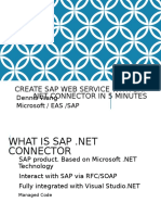 How to Create WS in SAP