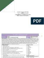 grade 3 science topic d h s unit plan