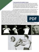 Las Tres Familias de Bloqueos en Wing Chun
