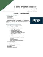 Resumen, Una Guía Para Emprendedores, Roberto Vainrub