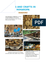 Arts and Crafts in Mimaropa