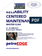 Reliability Centered Maintenance June 21-25,My