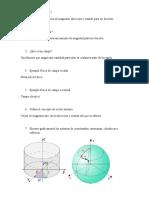 Cuestionario de Electricidad y Magnetismo
