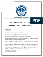 Guj HC Visit Report