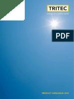 TRITEC Catálogo Productos Energía Solar