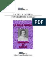 BALZAC HONORE DE - La Bella Imperia
