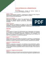 Plan de Estudios UNAM