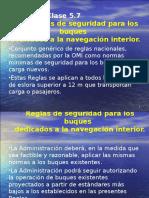 5.7 - Reglas de Seguridad Para Los Buques Dedicados a La Navegación Interior Por GT
