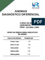 Anemias-diagnostico-diferencial