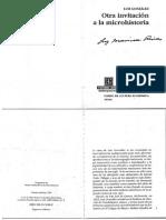 Microhistoria Luis González y González