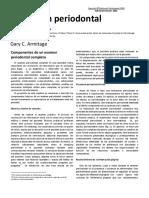El Examen Periodontal Completo g c Armitage