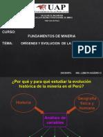 Historia de Mineria.
