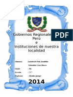 Monografia Gobiernos Regionales Del Peru