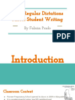 how regular dictations affect student writing