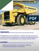 Curso Estructura Funcionamiento Camion Extraccion 830e Komatsu
