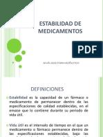 Estabilidad medicamentos