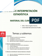 Analisis e Interpretacion Estadistica