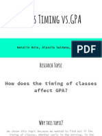 group 2-class timing vs gpa  1  pptx