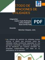 Método de Participaciones de Utilidades